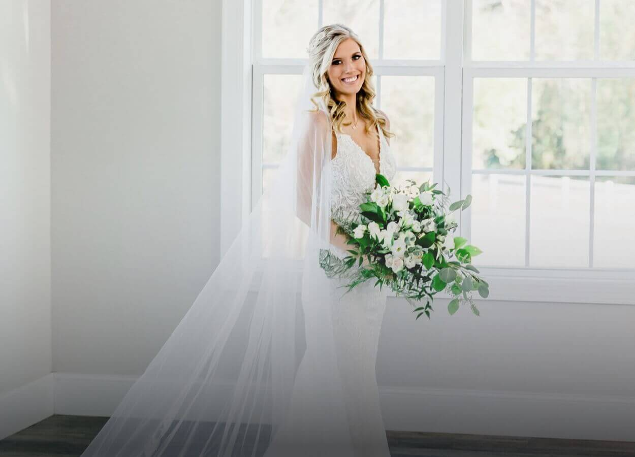 Photo of our bride